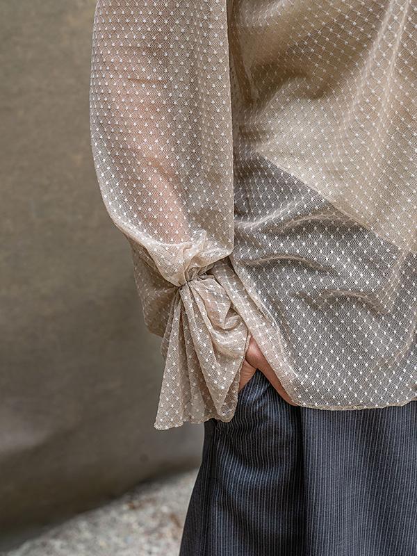 Bluse Adele . Hosenrock Seline