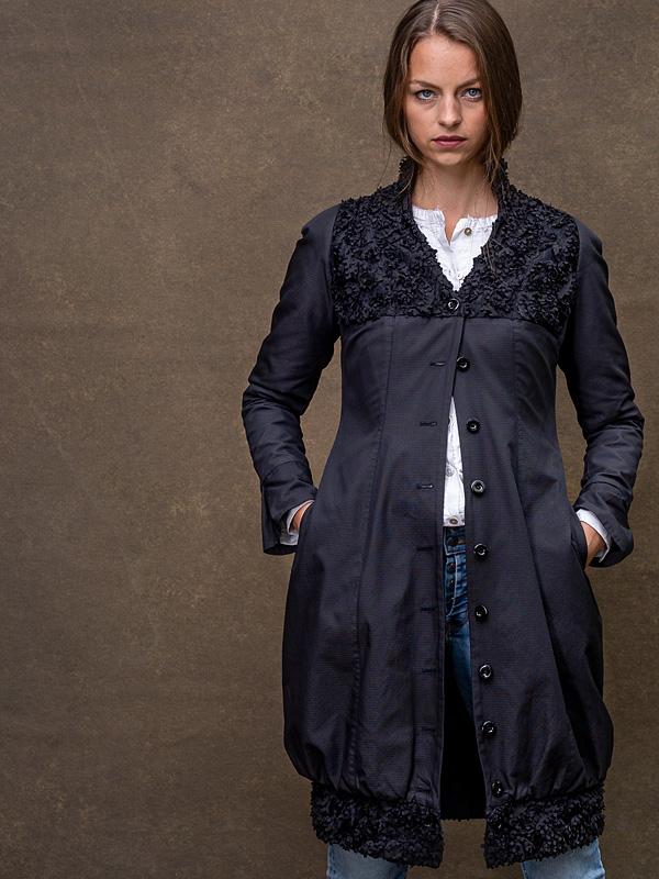 Jacke Frieda / Long Version . Hemd Paula