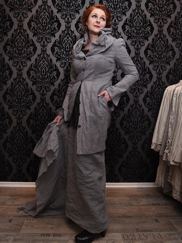 Jacke Martha / Midi Version . Shirt Lexa