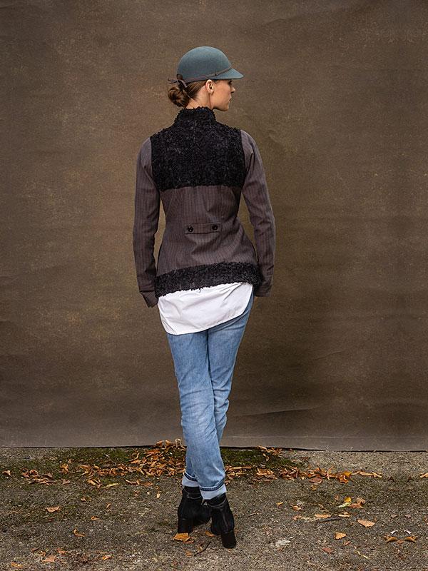 Jacke Frida / short . Hemd Paula