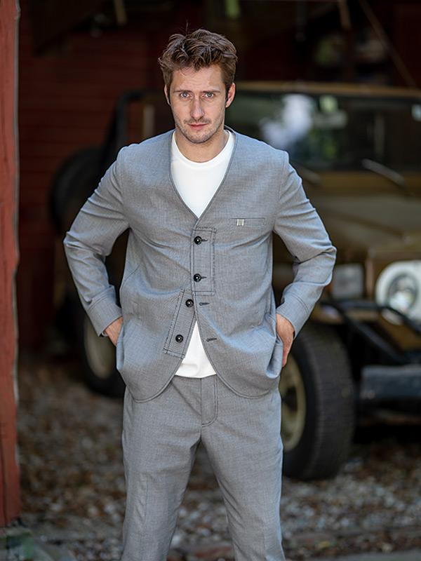 Jacke Toulouse . Shirt Auguste . Hose Emile