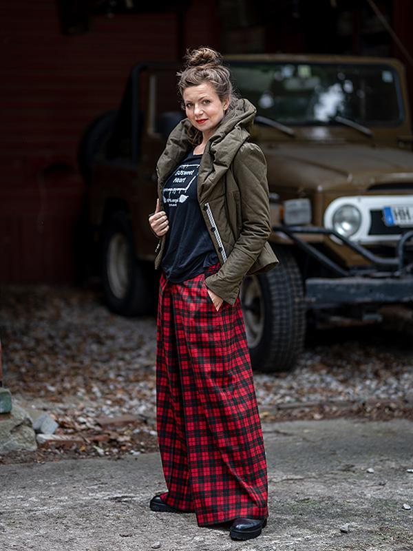 Jacke Martha / short . Shirt Babette . Hosenrock Seline
